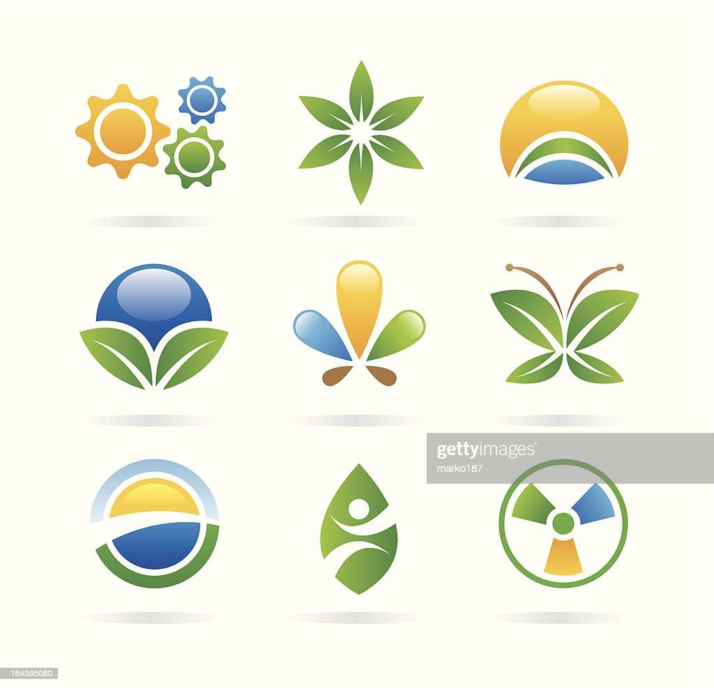eco icons/logos