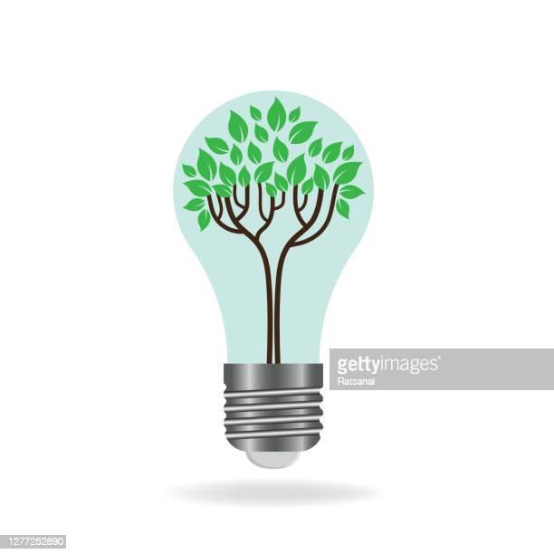 eco idea concept - power supply stock illustrations