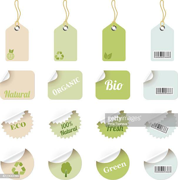 Eco Labels and Tags