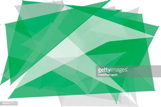 Eco-Tec Polygon Muster Horizontal