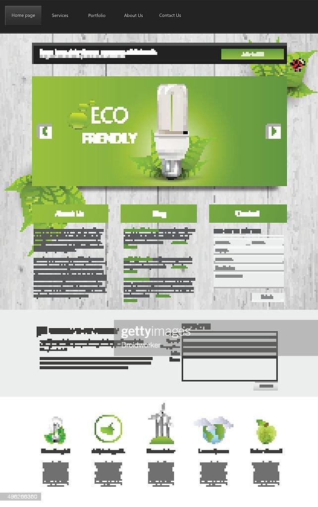 Eco Website Template