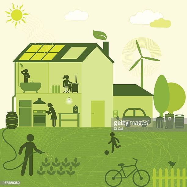 Eco-Friendly House (Green World Series)