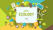 Ecology concept banner