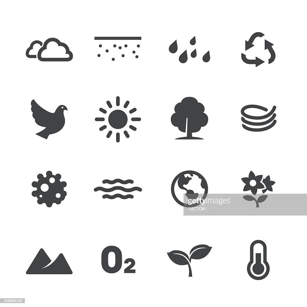 Ecology Icons - Acme Series