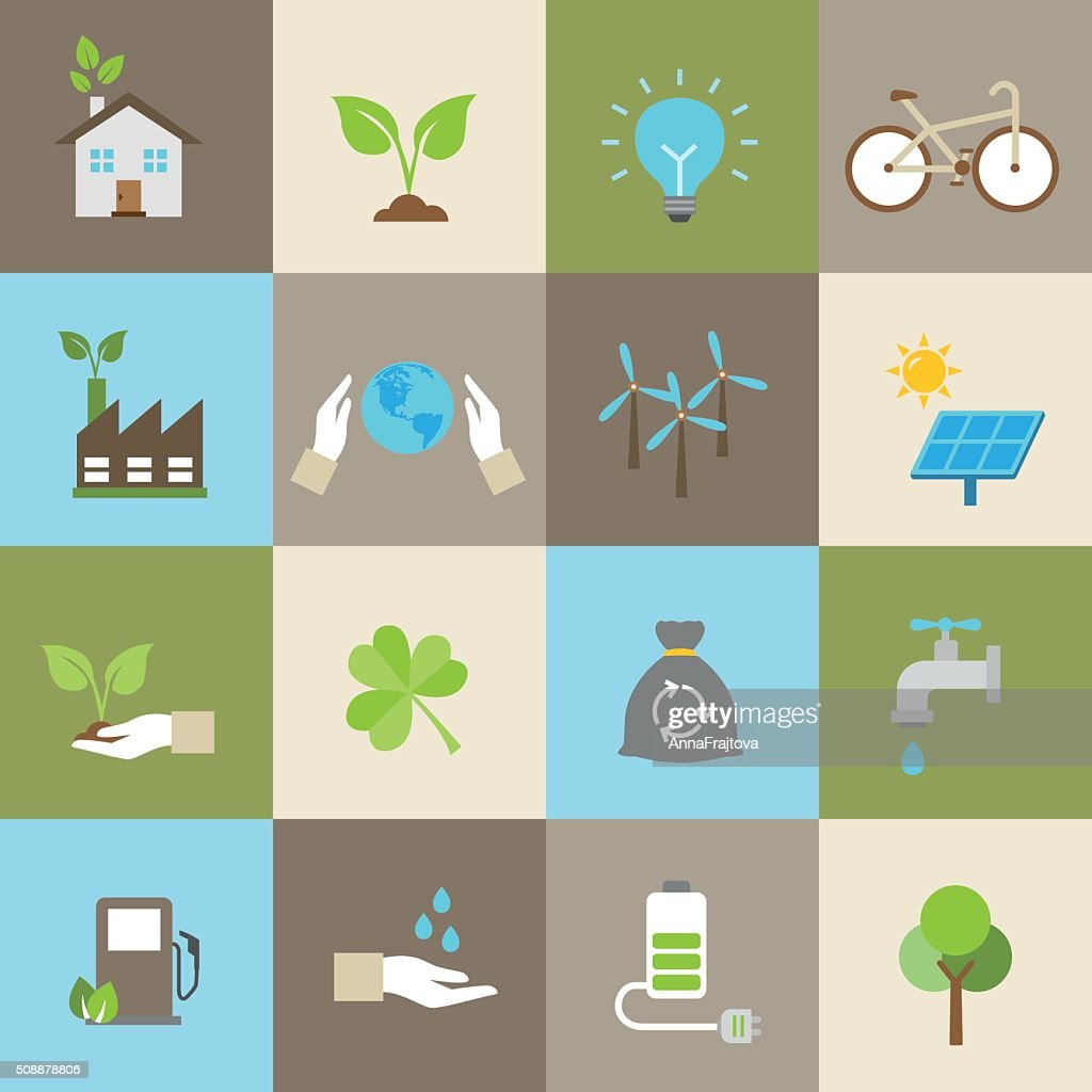 Ecology Icons, Nature Protection