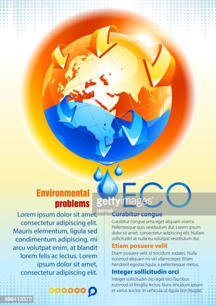 ecology - dehydration stock illustrations, clip art, cartoons, & icons