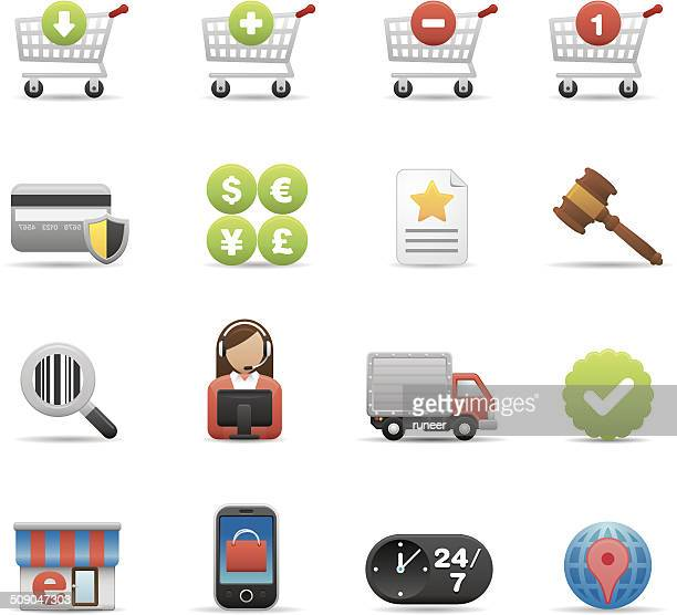eCommerce & Consumerism icons | Premium Matte series