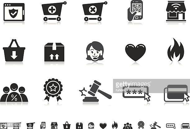 E-Commerce icons | Pictoria series