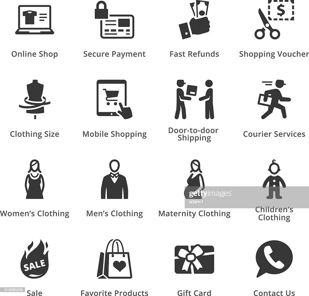 E-commerce Icons - Set 1