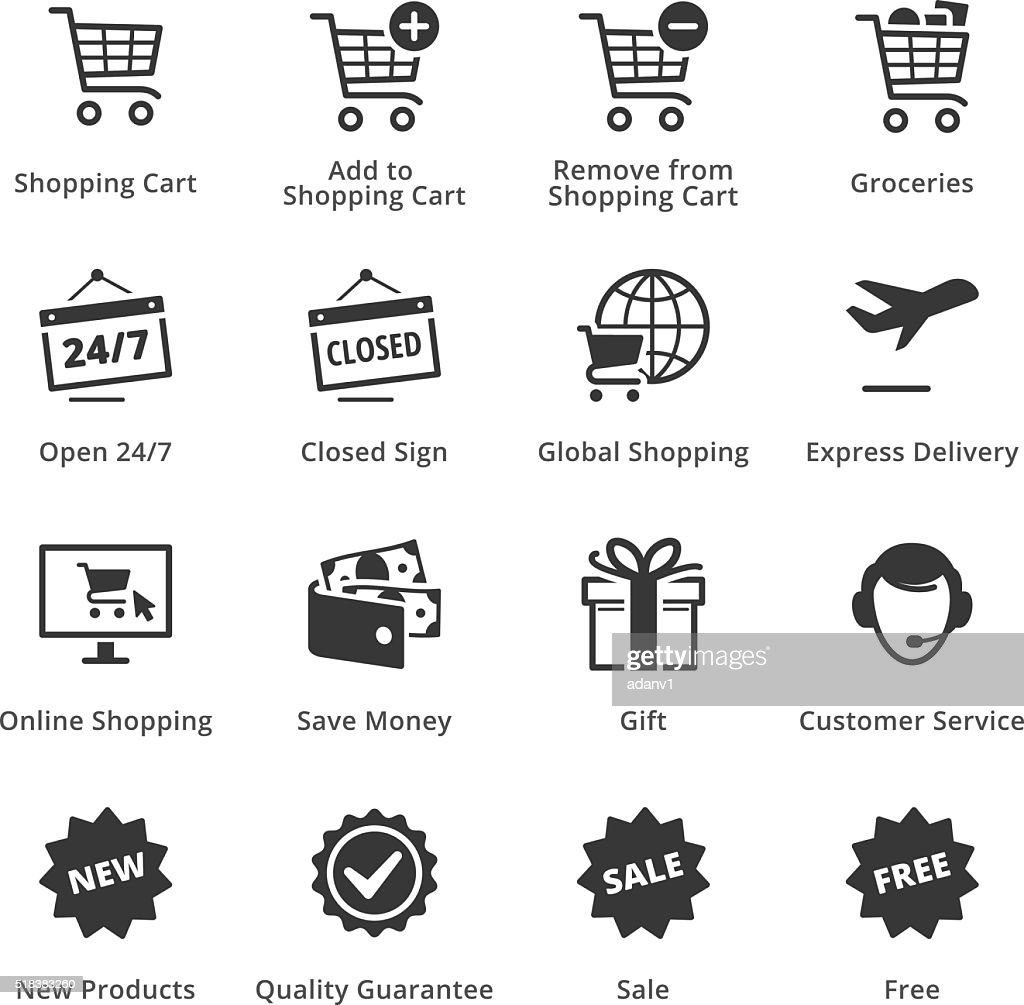E-commerce Icons - Set 2