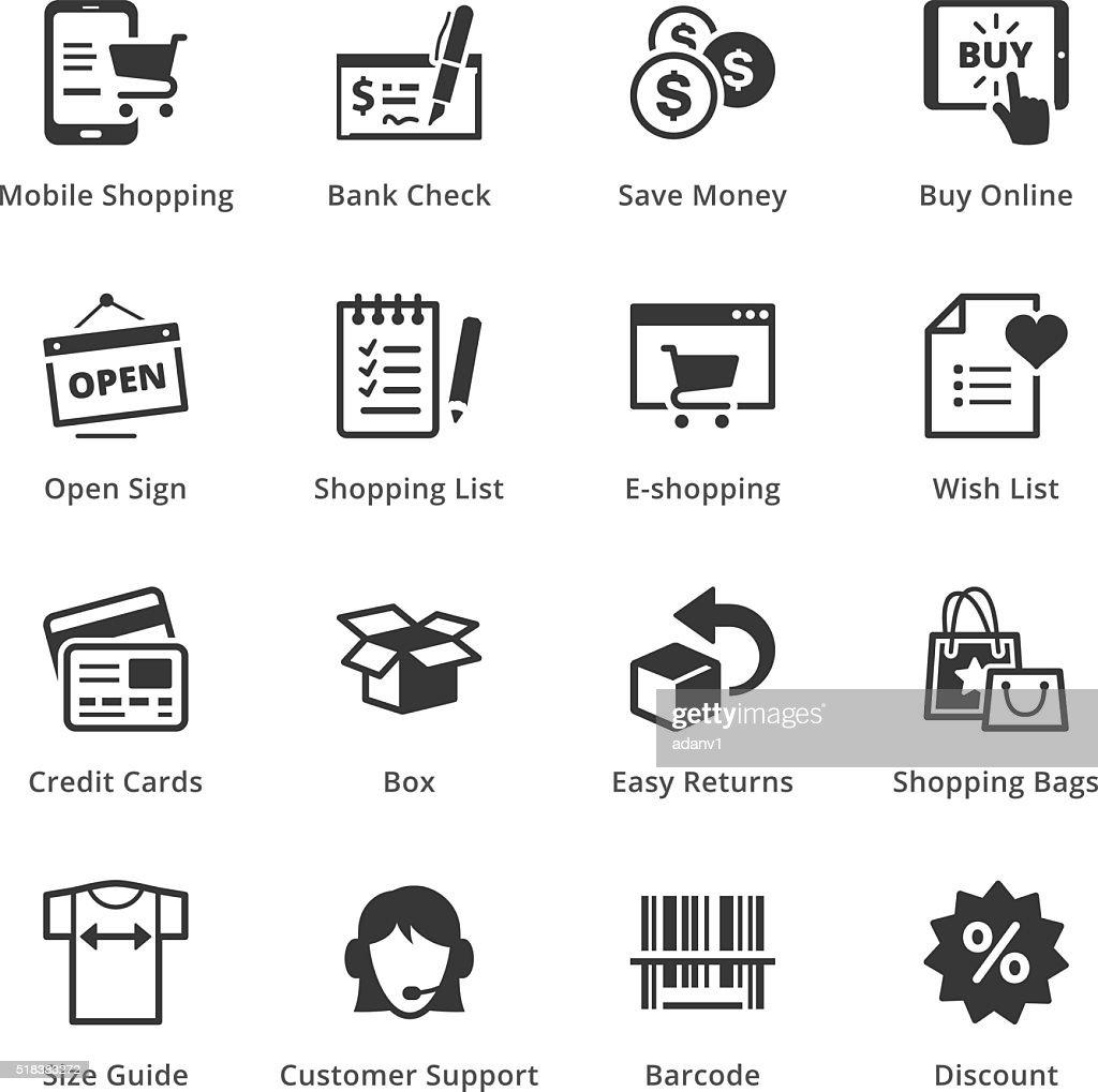 E-commerce Icons - Set 3