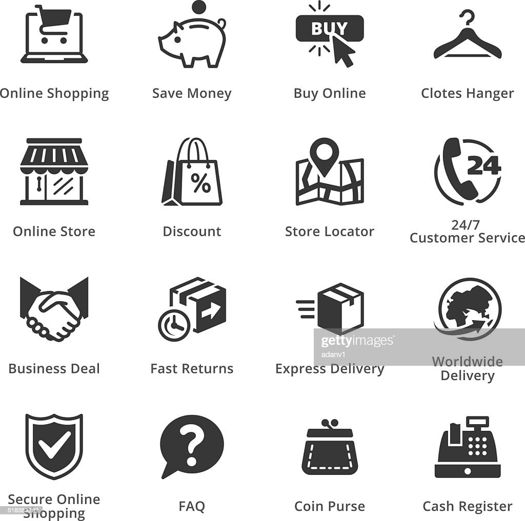 E-commerce Icons - Set 5