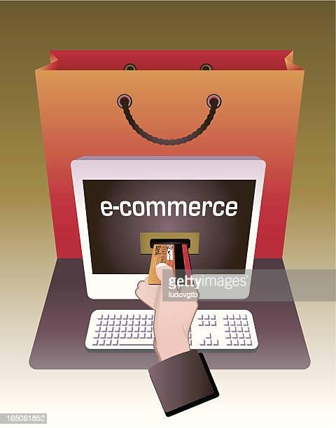 e-commerce - money to burn stock illustrations, clip art, cartoons, & icons