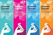 Economic Finance banner set