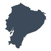 Ecuador country map