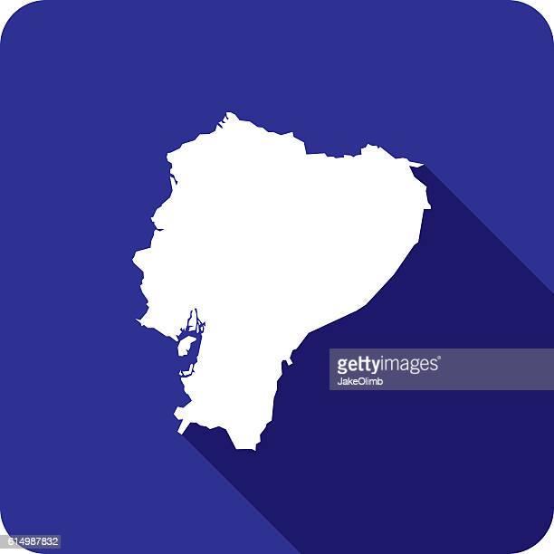 Ecuador Icon Silhouette