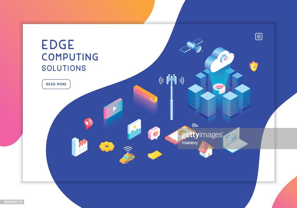 Edge computing template