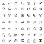 Edit icon set