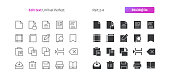 Edit text UI Pixel Perfect Well-crafted Vector Thin Line And Solid Icons 30 3x Grid for Web Graphics and Apps. Simple Minimal Pictogram Part 2-4