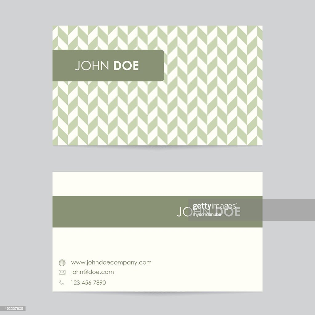 Editable business card template vector art getty images editable business card template vector art wajeb Gallery