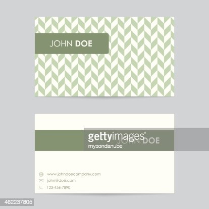 Editable Business Card Template Vector Art Getty Images