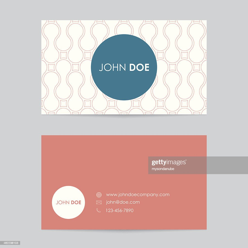 Editable business card template vector art getty images editable business card template vector art cheaphphosting Image collections