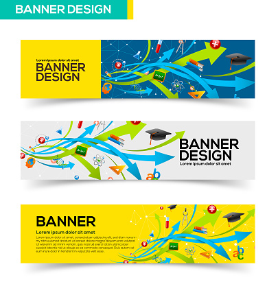 Education banner design - gettyimageskorea