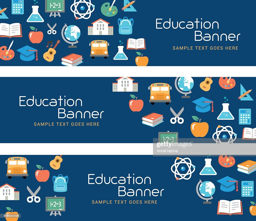 Education Banners