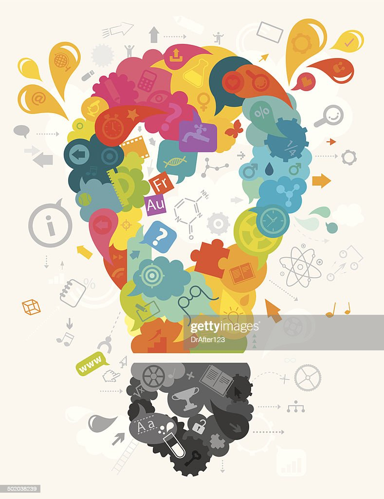 Education Bulb Concept