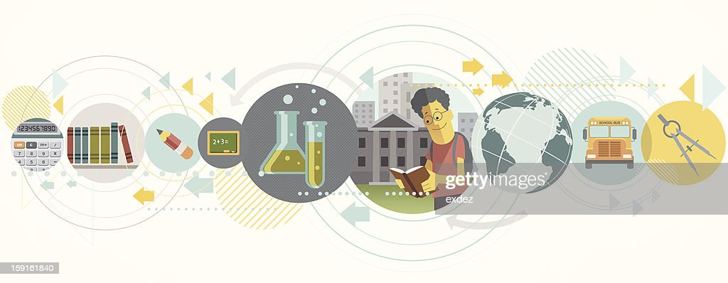 education concept design : Vector Art