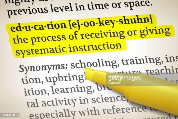 教育辞書解像度ロイヤリティフリーのベクターイラストレーション - 辞書点のイラスト素材/クリップアート素材/マンガ素材/アイコン素材