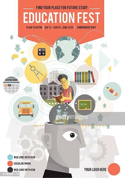 poster du Festival de l'éducation