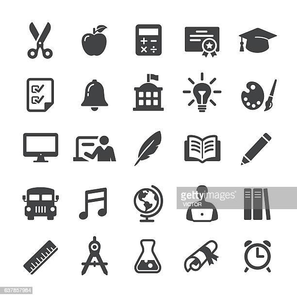 Education Icon Set - Smart Series