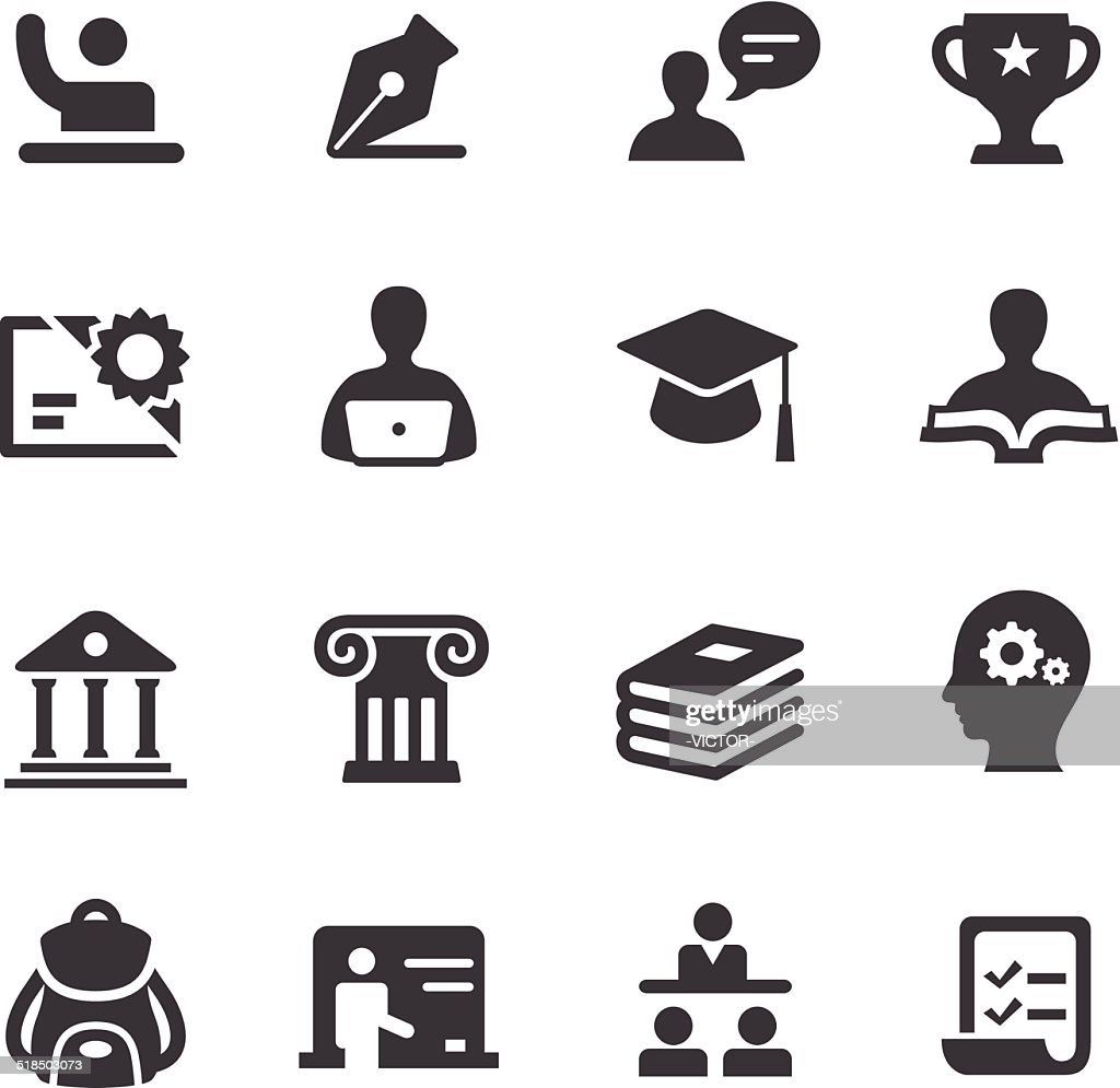 Education Icons - Acme Series