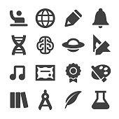 Education Icons - Minimal Series