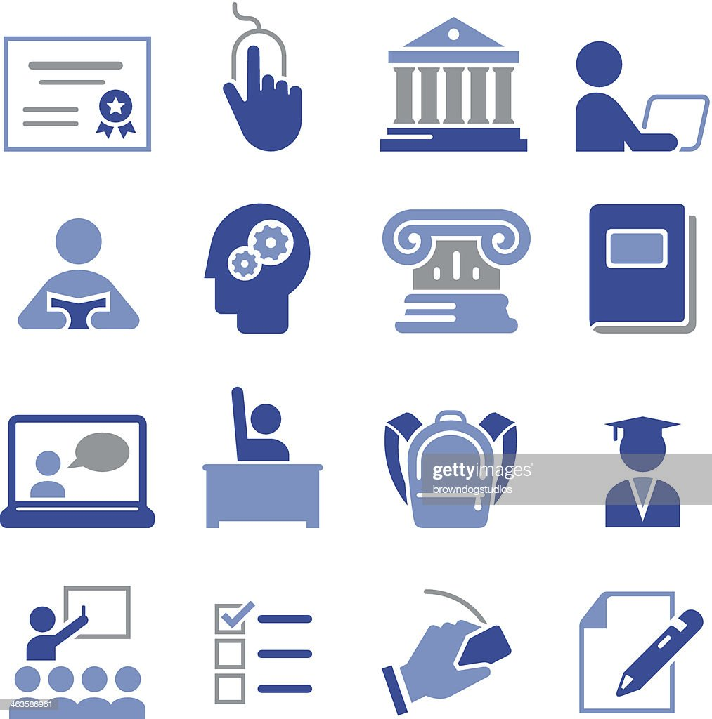 Education Icons - Pro Series