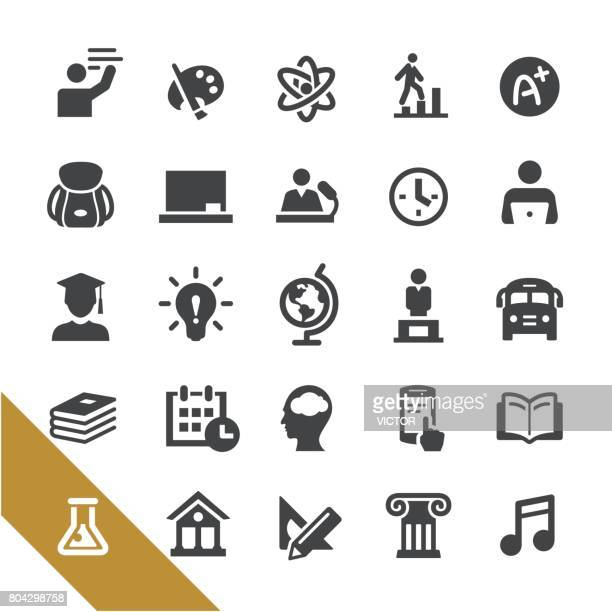 Education Icons - Select Series