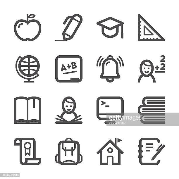 Education Icons set 1 | Stroke Series