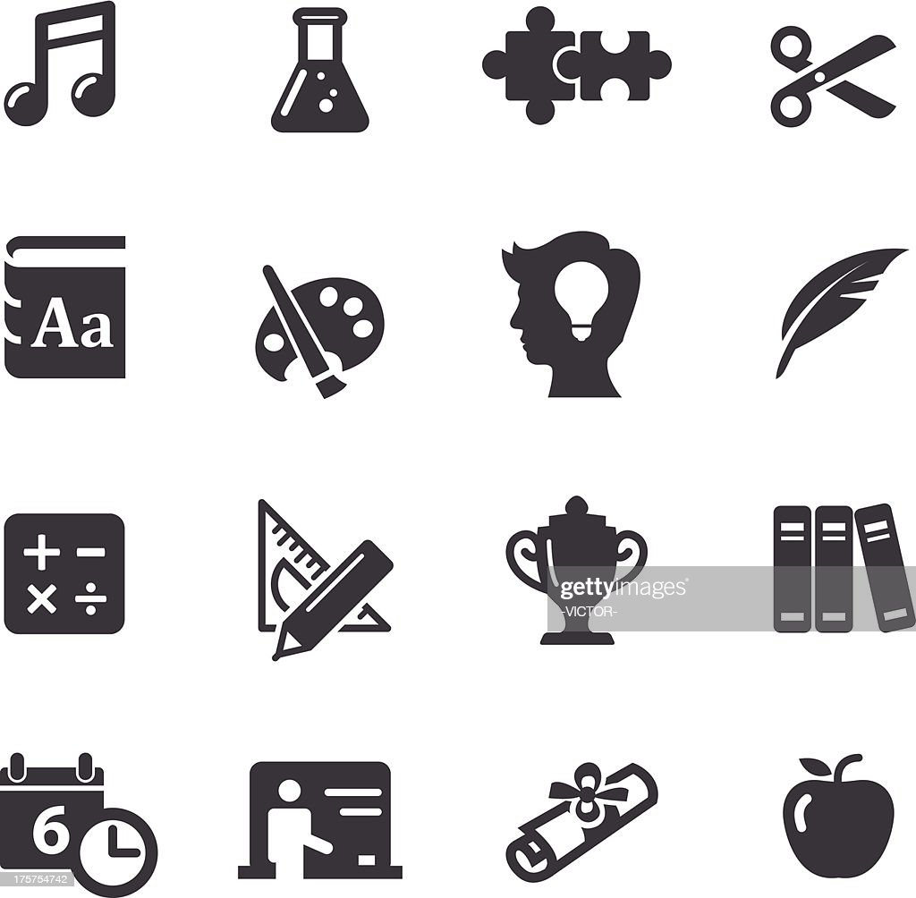 Education Icons Set 2-Acme Series