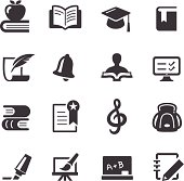 Education Icons Set - Acme Series