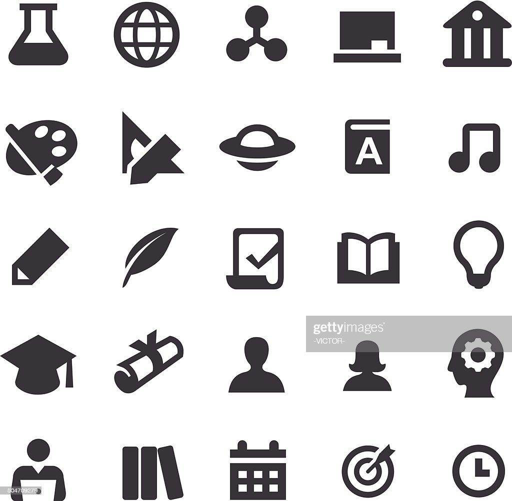 Education Icons - Smart Series