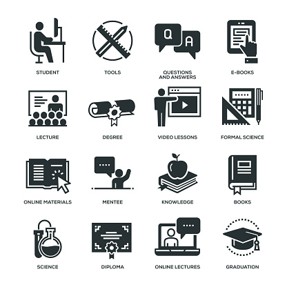 Education Icons - gettyimageskorea