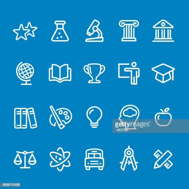 Education Icons - Vector Smart Line Series