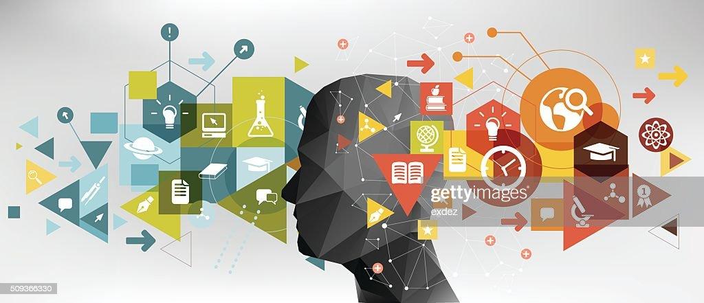 Education idea : Stock Illustration