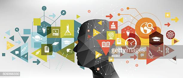 education idea - physics stock illustrations