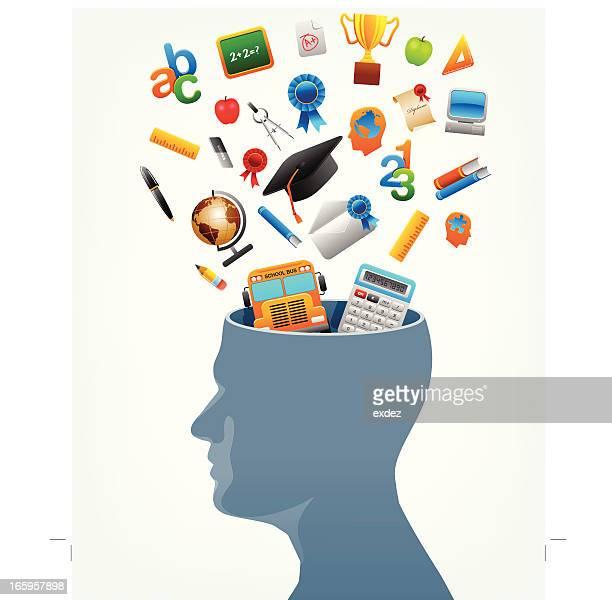 education ideas - report card stock illustrations
