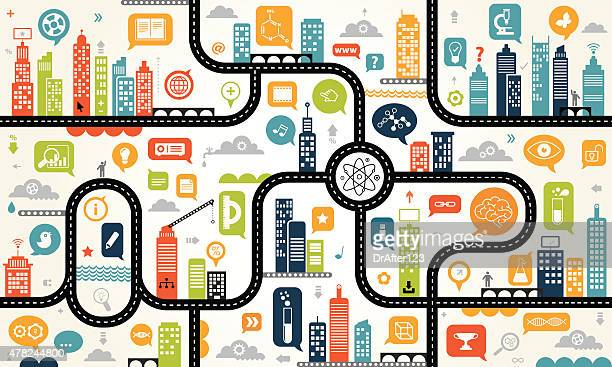 Education Online Endless Pattern