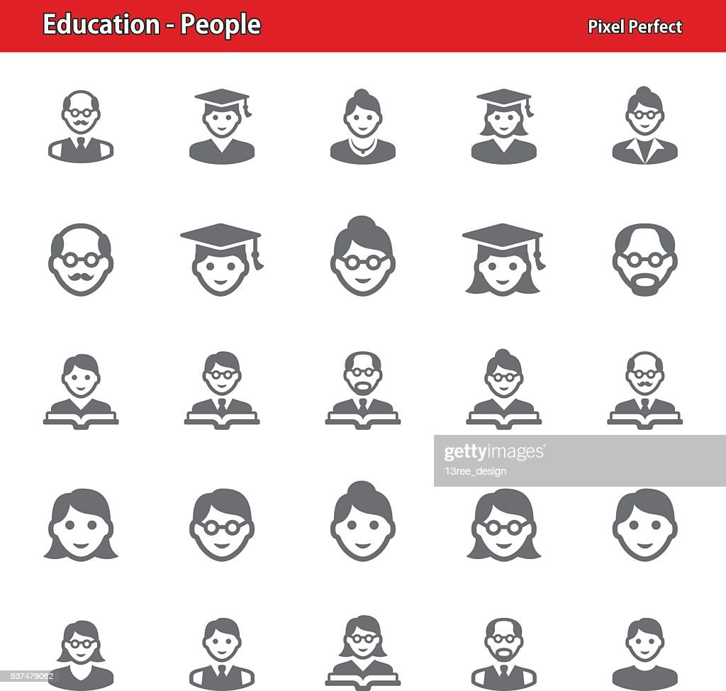 Education - People Icons