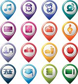 Education Pointer Icons