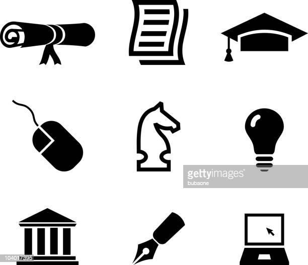 ilustraciones, imágenes clip art, dibujos animados e iconos de stock de educación vectoriales sin royalties de artes - torre pieza de ajedrez